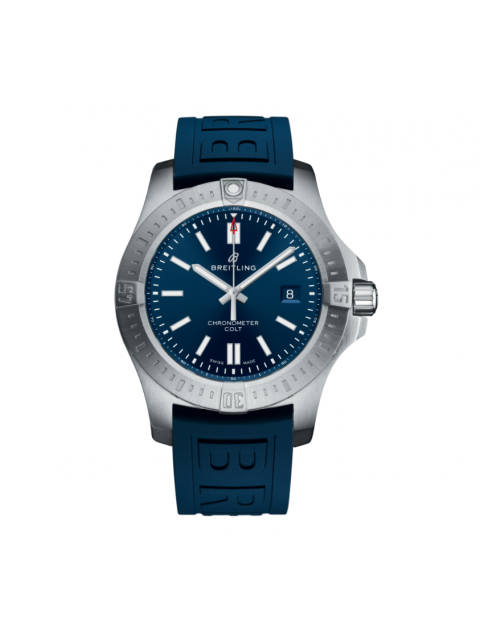 BREITLING COLT AUTOMATIC STAINLESS STEEL - BLUE