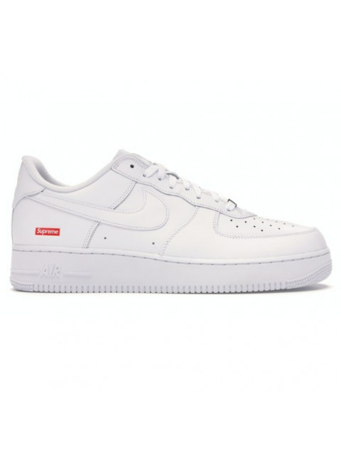 AIR FORCE 1 X SUPREME WHITE