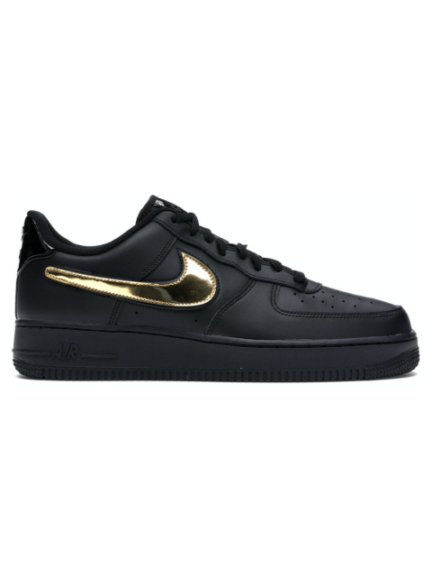 NIKE AIR FORCE 1 GOLD SWOOSH PACK