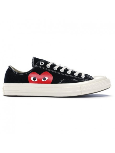 CDG PLAY X CONVERSE LOW