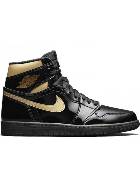 Air Jordan 1 High Metallic Gold