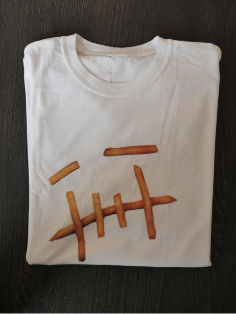Travis Scott x McDonald's Fry T-Shirt XL