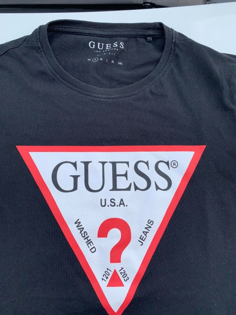 guess basic tee black