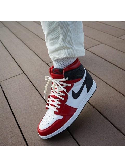 Nike Air Jordan 1 Satin Snake