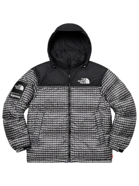 Supreme x The North Face Studded Nuptse Jacket Black