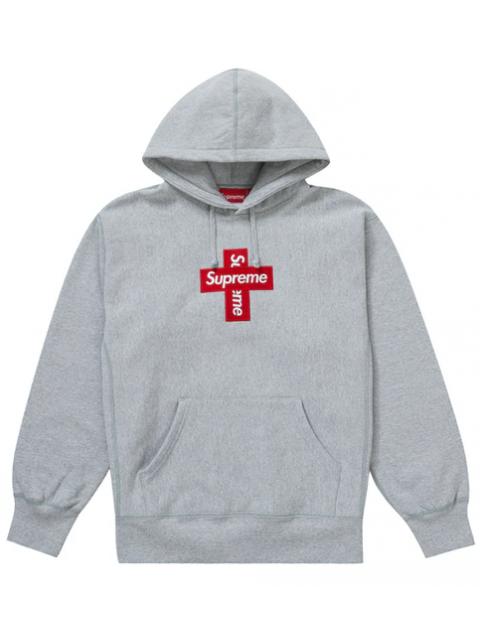 Supreme CrossBox Logo Hoodie